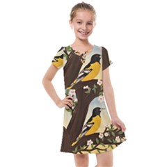 Oriole Kids  Cross Web Dress