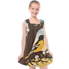 Oriole Kids  Cross Back Dress
