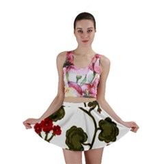 Geraniums Mini Skirt