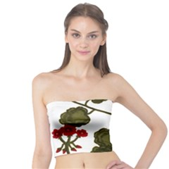 Geraniums Tube Top