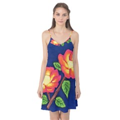 Sunset Flowers Camis Nightgown