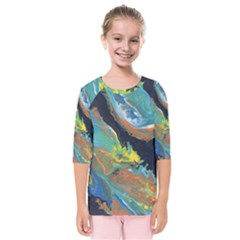 Space Kids  Quarter Sleeve Raglan Tee