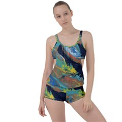 Space Boyleg Tankini Set