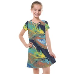Space Kids  Cross Web Dress