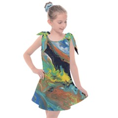 Space Kids  Tie Up Tunic Dress