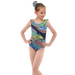 Space Kids  Frill Swimsuit