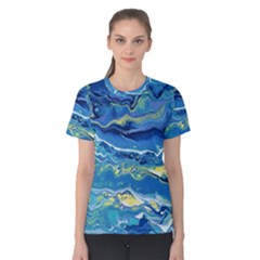 Sunlit Waters Women s Cotton Tee