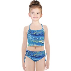 Sunlit Waters Girls  Tankini Swimsuit