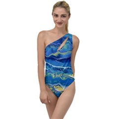 Sunlit Waters To One Side Swimsuit