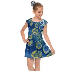 Churning Waters Kids Cap Sleeve Dress