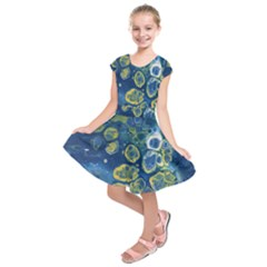 Churning Waters Kids  Short Sleeve Dress
