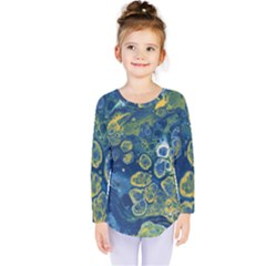 Churning Waters Kids  Long Sleeve Tee