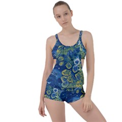 Churning Waters Boyleg Tankini Set