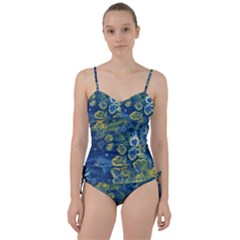 Churning Waters Sweetheart Tankini Set