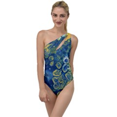 Churning Waters To One Side Swimsuit