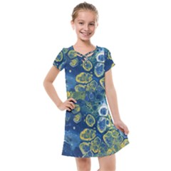 Churning Waters Kids  Cross Web Dress