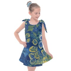 Churning Waters Kids  Tie Up Tunic Dress