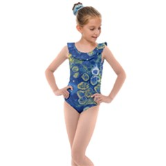 Churning Waters Kids  Frill Swimsuit