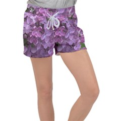 Purple Women s Velour Lounge Shorts