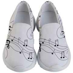 Music Partition Kid s Lightweight Slip Ons by alllovelyideas