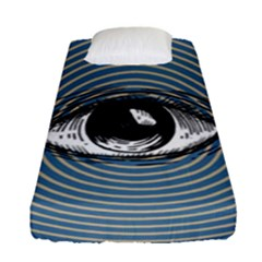 Pop Art Eye Fitted Sheet (single Size)