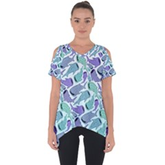 Whale Sharks Cut Out Side Drop Tee