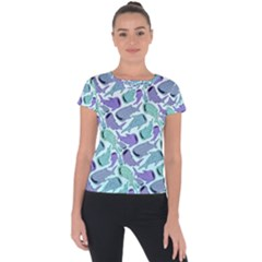 Whale Sharks Short Sleeve Sports Top