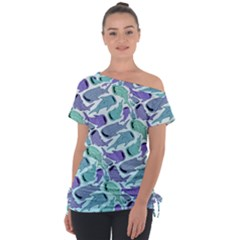 Whale Sharks Tie Up Tee