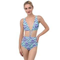 Whale Sharks Tied Up Two Piece Swimsuit