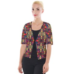 J 2 Cropped Button Cardigan