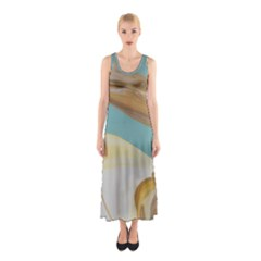Sun Bubble Sleeveless Maxi Dress