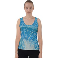 Neutron Velvet Tank Top