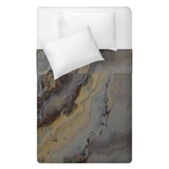 Gold Seam Duvet Cover Double Side (single Size) by WILLBIRDWELL