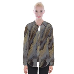 Gold Seam Womens Long Sleeve Shirt