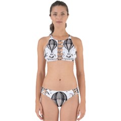 Vintage Adventure Expedition Perfectly Cut Out Bikini Set