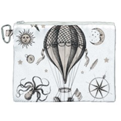 Vintage Adventure Expedition Canvas Cosmetic Bag (xxl) by Valentinaart