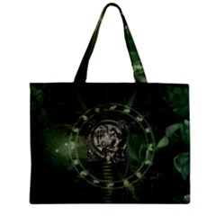 Awesome Creepy Mechanical Skull Mini Tote Bag