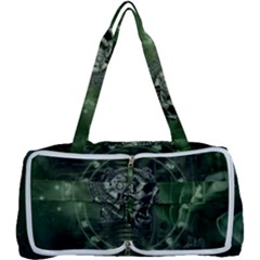 Awesome Creepy Mechanical Skull Multi Function Bag