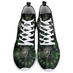 Awesome Creepy Mechanical Skull Men s Lightweight High Top Sneakers