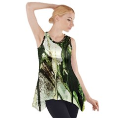 There Is No Promisse Rain 4 Side Drop Tank Tunic by bestdesignintheworld