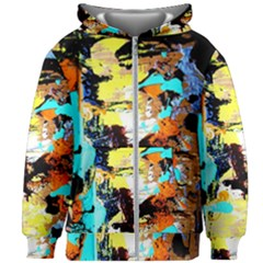Fragrance Of Kenia 6 Kids Zipper Hoodie Without Drawstring