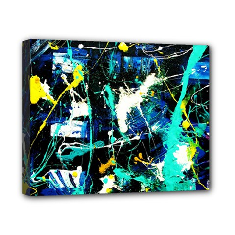 Brain Reflections 6 Canvas 10  X 8  (stretched) by bestdesignintheworld