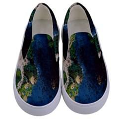 Avocado 3 Kids  Canvas Slip Ons