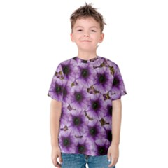 The Sky Is Not The Limit For Beautiful Big Flowers Kids  Cotton Tee