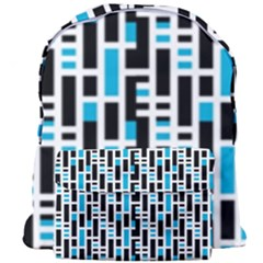 Linear Sequence Pattern Design Giant Full Print Backpack
