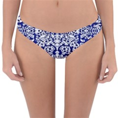 Red The Print Reversible Hipster Bikini Bottoms