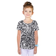Maze Draw Kids  One Piece Tee