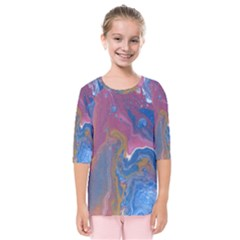 Blink Kids  Quarter Sleeve Raglan Tee