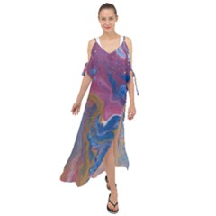 Blink Maxi Chiffon Cover Up Dress