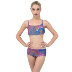 Blink Layered Top Bikini Set